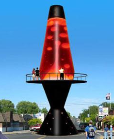 Соап Лейк - родина большой лава лампы