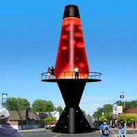 Действительно большая лава лампа