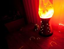 Эффект от лавовой лампы