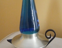 Лавовая лампа в форме лампы Алладина