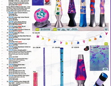 "Реклама ламп ""Lava Lite"" в журнале. США."