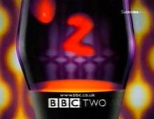 Лавовая лампа в заставке телеканала BBC
